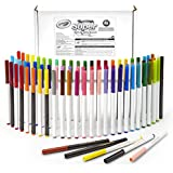 Crayola Super Tips Washable Markers, 80Count Set 43 Unique Colors with Doubles of Your Favorite 25 Colors & 12 Scented Shades, Art Tools for Kids & Toddlers 3 & Up