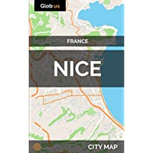 Nice, France - City Map