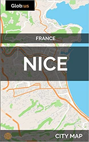 Nice France City Map Jason Patrick Bates 9781980644538 Amazon