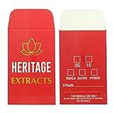 500 Premium Heritage Extracts Gold Foil Shatter Labels Envelopes #153