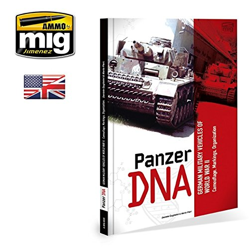 AmmoのMig Jimenez戦車DNA WWII German Military Vechicles英語# 6035   B0761YDSGD