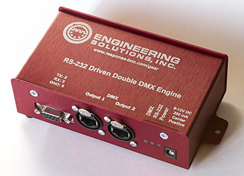 RS-232 Double DMX Engine - RJ45 Output by Engineering Solutions Inc