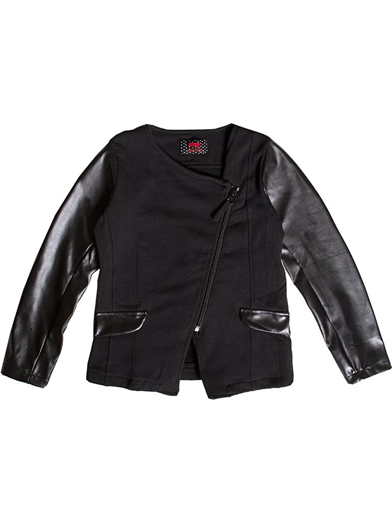 899 - Noir 9-10 ans (hauteur  140 cm) voiturerera Jeans - Sweat-Shirt 881 pour Fille, Couleur Unie, Taille Slim, Manche Longue