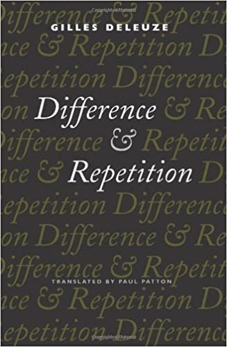 Difference and Repetition, Deleuze, Gilles