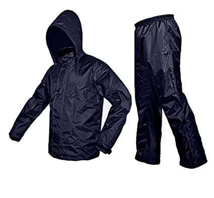 ever popular exceptional range of styles amazing selection Zavia Premium Plain Rain Coat (XL- Free size) Blue