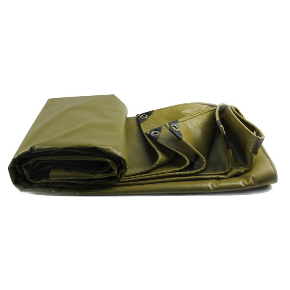 Tarpaulin Tuch HUO Dicke Leinwand Plane PVC Plane Wasserdichte Tuch Tarpaulin LKW Markise Tuch Sonnenschirm Tuch (Multi-Größe Optional) (größe   2  4m) ee2fd7