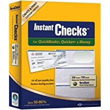 Instant Checks for QuickBooks, Quicken & Money: Form #3000 Business Standard - Green Graduated 250pk