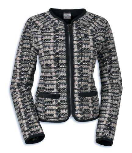 Tatonka Jacke Eden Jacket - Soft shell para mujer, color gris oscuro, talla DE: 38 gris oscuro