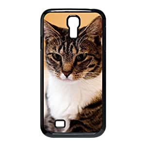 AKERCY American Short Hair Cat Phone Case For Samsung Galaxy S4 i9500 [Pattern-3]