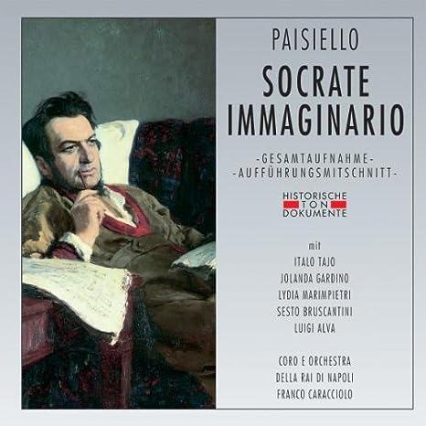 Socrate Immaginario: Coro E Orchestra Della Rai di Napoli, Paisiello:  Amazon.it: Musica