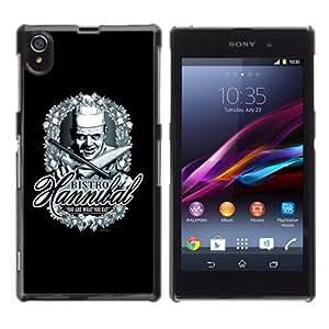 YOYOSHOP [Funny Bistro Hannibal Poster] Sony Xperia Z1 L39h Case