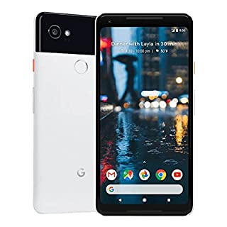 Google Pixel 2 XL 128GB - 4G LTE GSM Factory Unlocked, Google Edition - International Model - White and Black