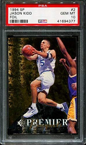 Jason Kidd Graded PSA 10 GEM MT (Basketball Card) 1994-95 SP - [Base] #2