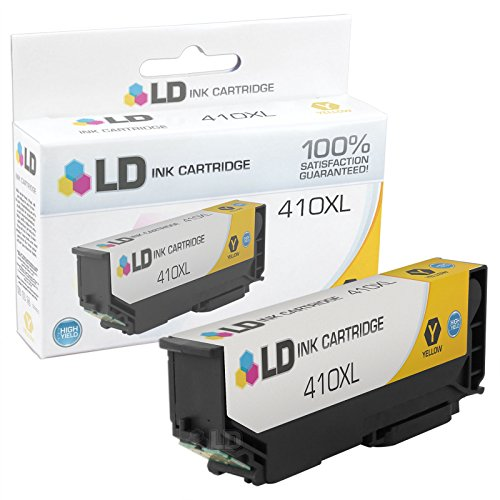 LD © Remanufactured Epson 410 / 410XL / T410XL420 High Yield Yellow Ink Cartridge for use in Expression XP-530, Expression XP-630, Expression XP-635, Expression XP-640 & Expression XP-830