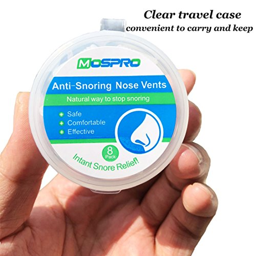 Anti Snoring Sets of 8 Stop Snoring Nose Vents Help Ease Breathing And Snoring Different Size Snore Stopper by HLXY (Image #4)