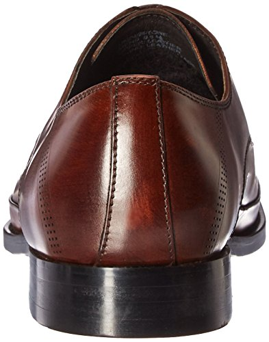 Kenneth Cole New York Mens Under-tone Oxford Cognac