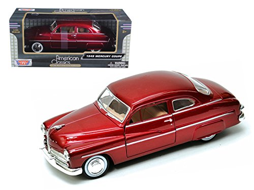 Maisto 1949 Mercury Red 1/24 Car Model by Motormax