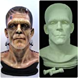 Frankenstein Zombie Bust Life Size Movie Prop Replica Raw Cast Kit