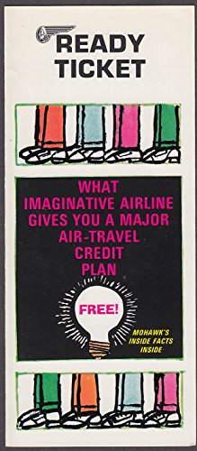 Mohawk Airlines Ready Ticket airline folder - Mohawk Airlines