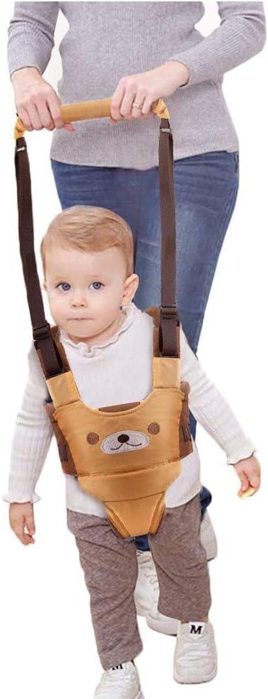 ndador Arnes Bebe, Arnés Para Caminar Para Bebé,Seguridad Asistente Niños Andador Anti Perdido Correa Proposito Doble Para Bebés De 6 A 27 Meses(amarillo)