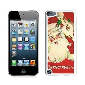 Custom Design Santa Claus White iPod Touch 5 Case 8