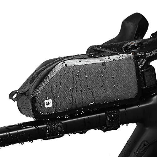 163bde2fbdb Rhinowalk Bike Bag Bike Top Tube Bag Bike Frame Bag Waterproof and Stable  Bicycle Frame Bag Bicycle Bag Professional Cycling Accessories