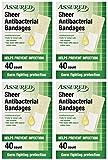 Sheer Antibacterial Bandages, Latex-free, 160-count