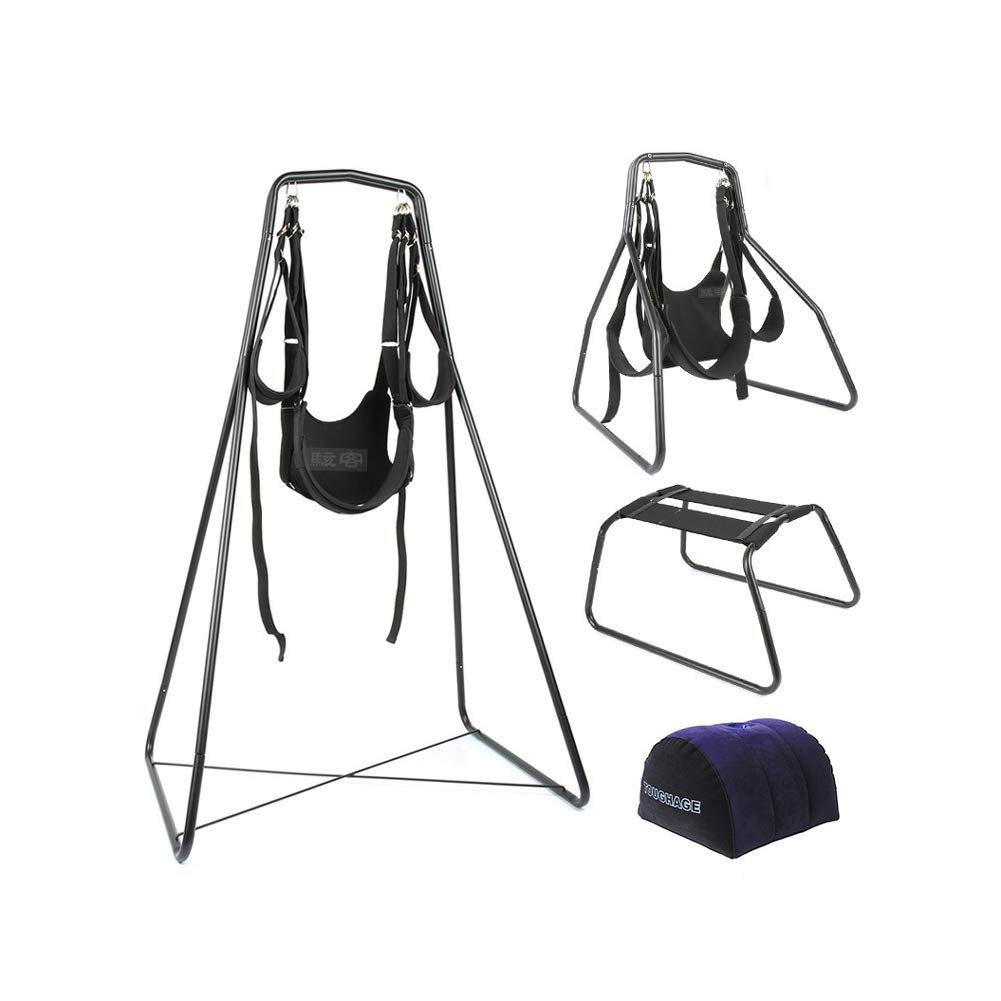 LTLOVETOY Indoor Swing for Couple Play with Strong Nylon-Holds Up to 160kg Furniture