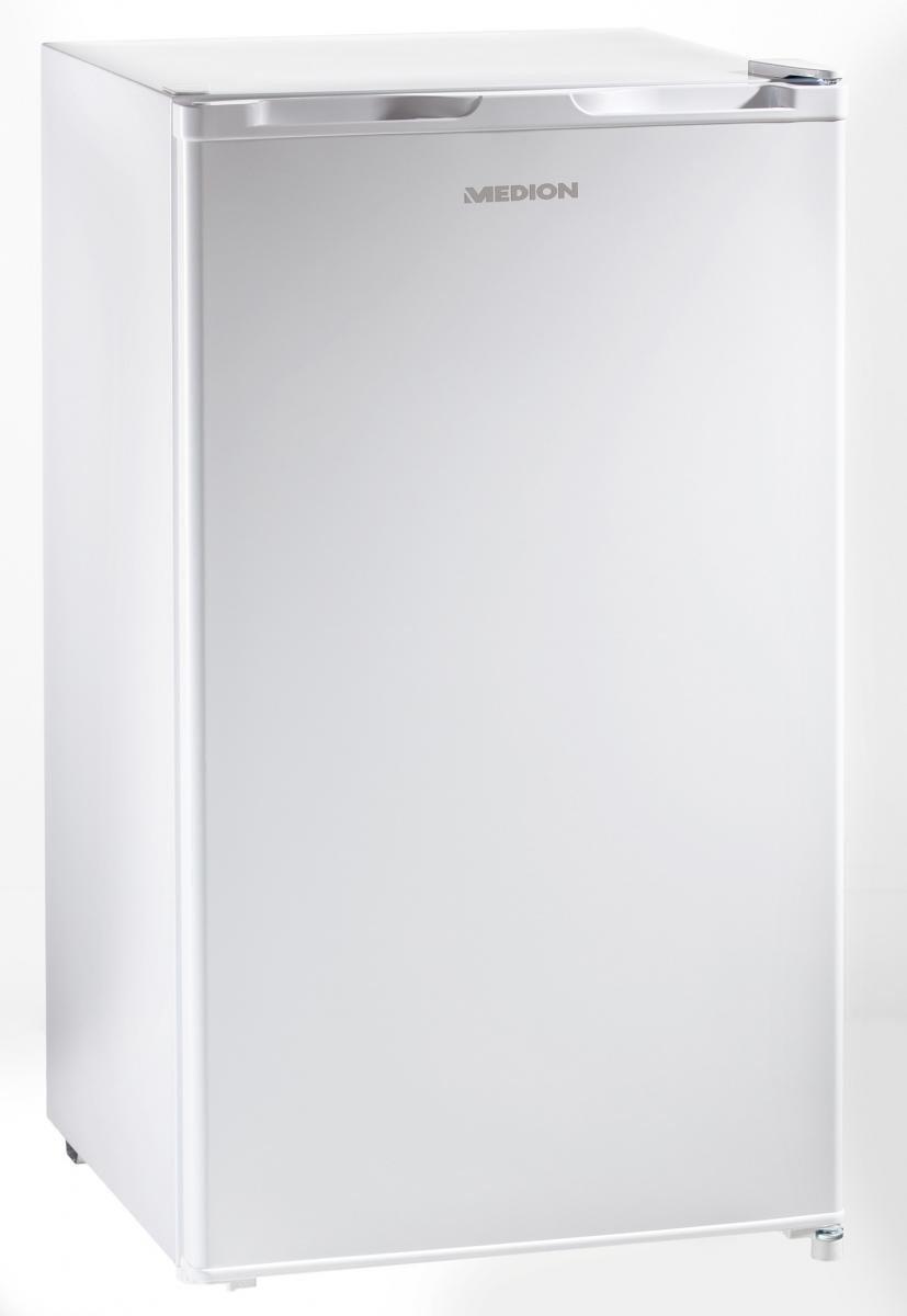 Medion Kühlschrank Eiswürfelfach 93L EEK: A+ Single Standgerät weiß ...