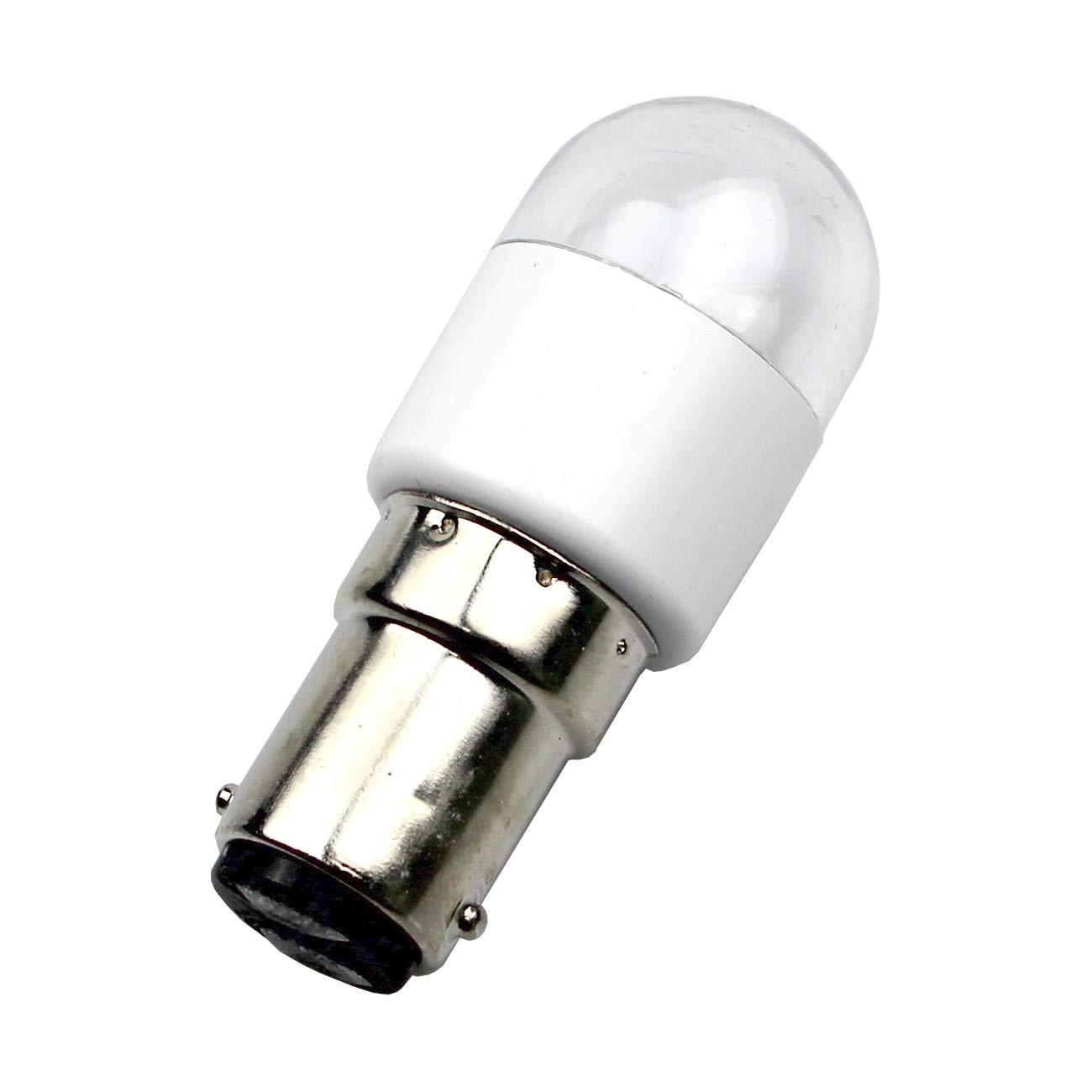 La Canilla ® - Bombilla LED Máquina de Coser Alfa, Singer, Sigma Lámpara LED Ba15D: Amazon.es: Hogar