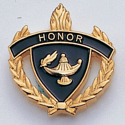 HONOR ENAMELED LAPEL PIN - PACK OF 10