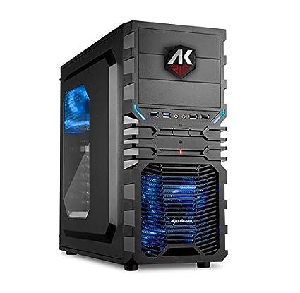 AK Rig Amazon Eight Desktop PC de Gaming, procesador Intel ...