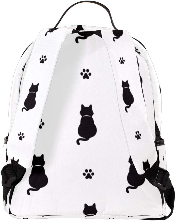 Cat Kitten Cat Paw Foot Laptop Backpack for Women Men,School College Backpack with Fashion Backpack