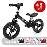 Glaf Kids Balance Bike No Pedal Bicycle Walking Bicycle Toddler Balance Bike for Kids Adjustable Handlebar and Seat Children Balance Bike Training Running Bicycle for Ages 17 Month-5 Years Old