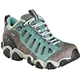 Oboz Sawtooth Low BDry Hiking Shoe - Women's Mineral Blue 8