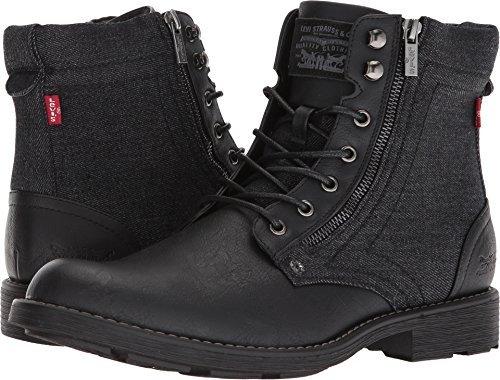 Levi's Shoes Men's Jacoby Denim Black Monochrome 10 D US