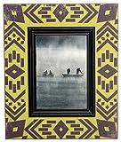 Boston International Navajo Blanket Photo Frame Holds 5 by 7-Inch Photo