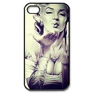 Marilyn Monroe Iphone 4 4s Durable Case + Free Wristband Accessory