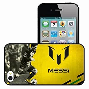 Personalized iPhone 6 4.7 Cell phone Case/Cover Skin Lionel Messi Football Argentina Black