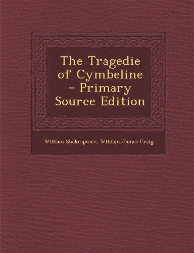 Tragedie of Cymbeline by Nabu Press