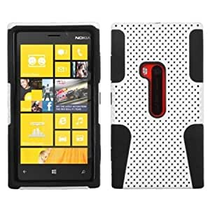 Asmyna ANK920HPCAST004NP Astronoot Premium Hybrid Case with Durable Hard Plastic Faceplate for Nokia Lumia 920...