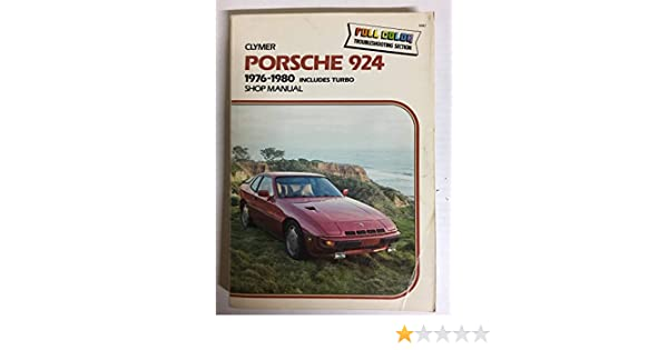 Porsche 924, 1976-1982, Includes Turbo: Shop Manual: Alan Ahlstrand: 9780892872046: Amazon.com: Books