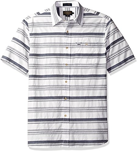 pendleton-mens-short-sleeve-fitted-kay-street-shirt-blue-white-x-large