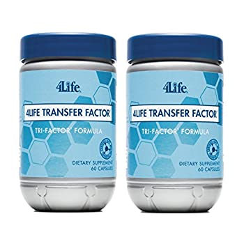 Image of Health and Household 4Life Transfer Factor Tri Factor Formula supported Immune System Exclusive 60 capsules each (pack of 2) by 4life Research