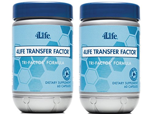 4Life Transfer Factor Tri Factor Formula supported Immune System Exclusive 60 capsules each (pack of 2) by 4life Research (Best Cc For Balance Transfers)