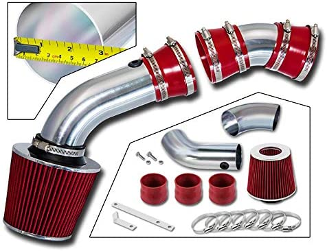COLD SHIELD AIR INTAKE RED FILTER FOR 96-99 C//K 1500 Cheyenne Tahoe V8