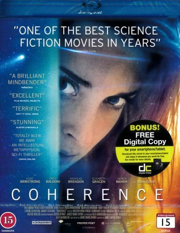 Coherence (2013)  [ Blu-Ray, Reg.A/B/C Import - Sweden ]