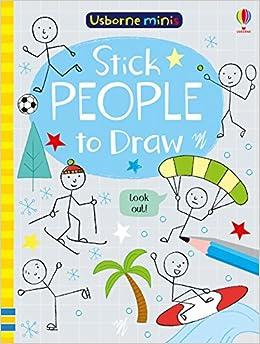 Stick People to Draw (Usborne Mini Books): Amazon co uk: Sam