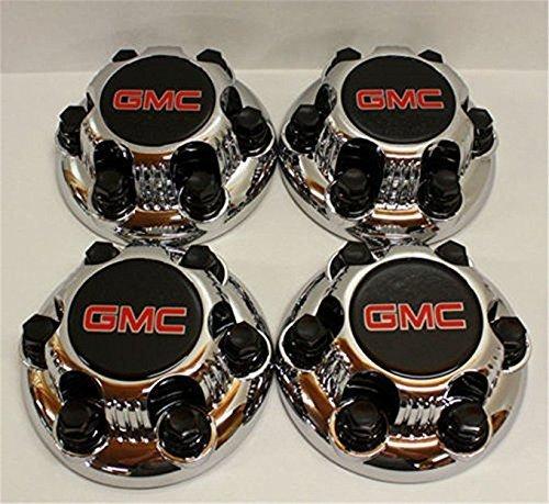 Set of 4 Chrome GMC Sierra Yukon Savana 6 Lug 1500 Center Caps 16' 17' Wheels skil1