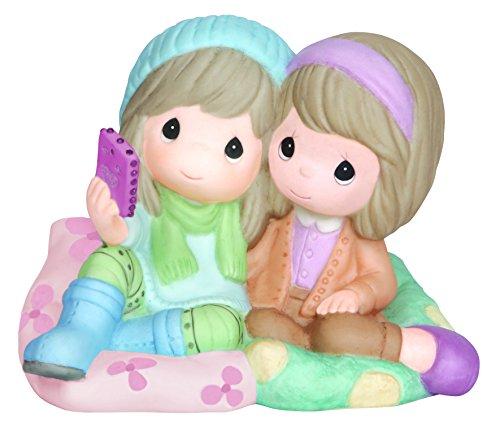 [Precious Moments,  I'm Always My 'Selfie' With You!, Bisque Porcelain Figurine, 143026] (Precious Moments Bath)